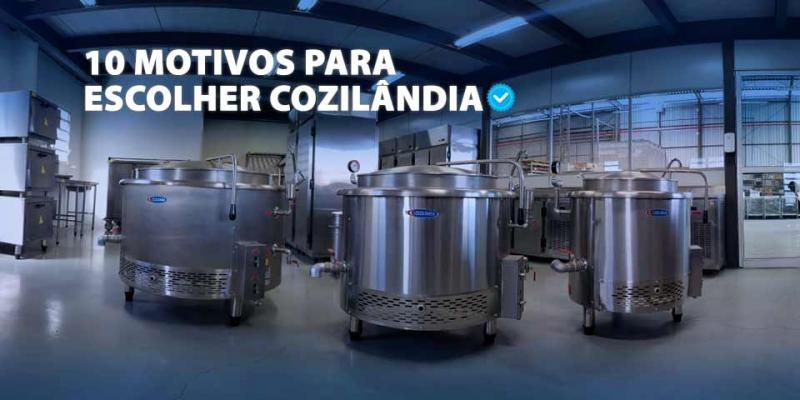 10 motivos para comprar cozinha industrial na cozilândia