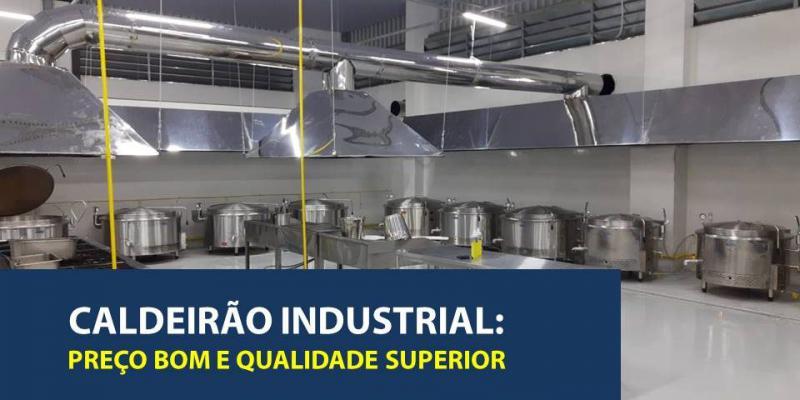 Caldeirão Industrial: Preço Bom e Qualidade Superior