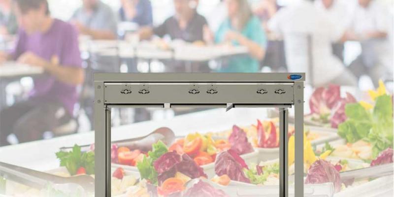Equipamentos de cozinha para o setor de refeições coletivas