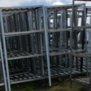 Estante industrial usada