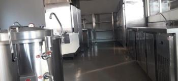 Empresa cozinha industrial